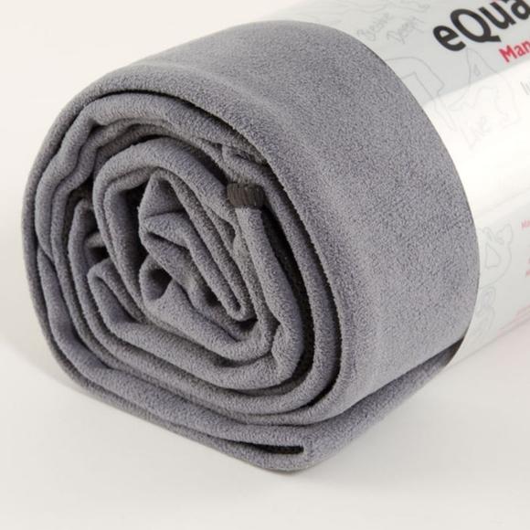 Lululemon manduka equa towel grey purple